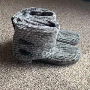 Knit BearPaw boots